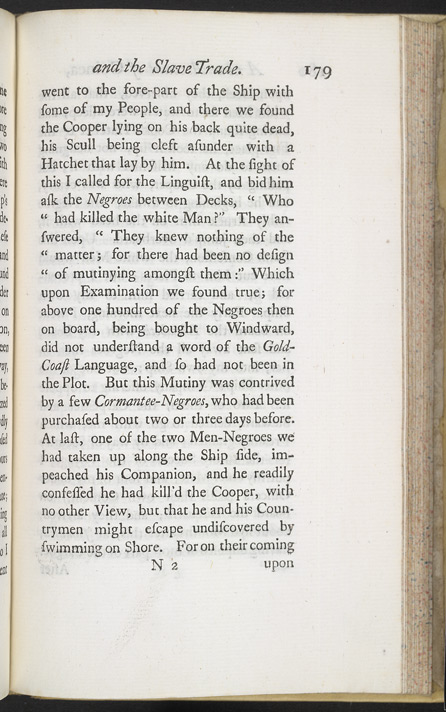 A New Account Of Some Parts Of Guinea & The Slave Trade -Page 179